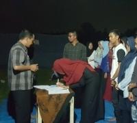 Suasana Alam hiasi Pelantikkan Pengurus IPELMA KK Periode 2018/2019