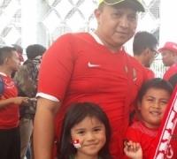 Situasi Lebih Kondusif, Supporter Berani Bawa Anak-Anak Nonton Timnas Indonesia