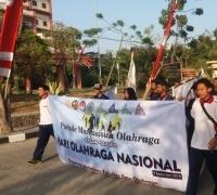 Ormawa FIO Unesa Cetak Sejarah, Parade Mahasiswa Olahraga Sukses Digelar