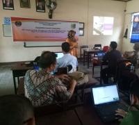 Tim Pascasarjana Unesa Turun Mengabdi Saat Lombok Diguncang Gempa di Kabupaten Lombok Timur