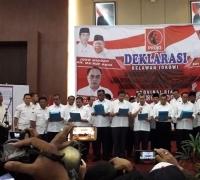 Setelah lakukan kesepakatan, Gubri Terpilih H. Syamsuar dan Kepala Daerah di Riau Dukung Jokowi-Ma'ruf Amin
