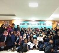 Mencetak Kader Bangsa, Jurusan PMPKN Unesa Gelar Civic Education Fair 2018