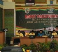 Bertepatan Dengan Hari Jadi Kabupaten Pelalawan Ke 19, Sidang Paripurna Istimewa pun Digelar