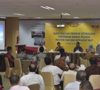 KPK RI Kumpulkan Seluruh Direksi Dan Komisaris BUMD Provinsi Riau di Bank Riau Kepri