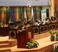 Noviwaldy Jusman Pimpin Rapat Paripurna Pembentukan Pansus LKPj Dan Bentuk AMJ Kepala Daerah Tahun 2014-2019