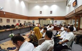 Komisi IV DPRD Riau Gelar Rapat Kerja (Hearing) Bersama Sejumlah OPD