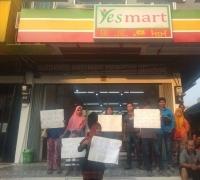 Pedagang Pasar Basah SKA Keluhkan Keberadaan Yes Mart