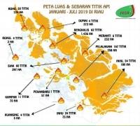 JMGR:Riau Dikepung Asap Tebal, Korporasi Penyumbang Terbesar
