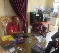Balon Bupati Pelalawan Budi Artiful lakukan pertemuan dengan Politisi PKS
