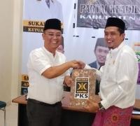 Budi Artiful resmi daftarkan diri di bursa penjaringan PKS sebagai Balon Bupati Pelalawan