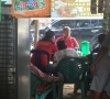 Budi Artiful gelar Ngopi Bareng bersama masyarakat 2 kecamatan di Pelalawan