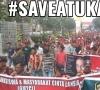 Save Atuk Annas, Ribuan Masa Padati Bundaran Polda Riau