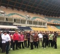 Usai Tinjau Stadion Utama, Ketua PSSI Beri Catatan Untuk Bisa Jadi Venue World Cup U20 2021