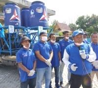 Anggota DPRD Pekanbaru, Aidil Amri Distribusi Westafel Portable di Sejumlah Daerah