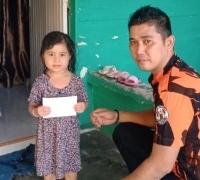 Peduli Sesama, PAC Pemuda Pancasila Marpoyan Damai Santuni Anak Yatim