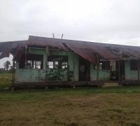 GNPK RI Soroti Bangunan SDN 019 di Kuala Kampar Kabupaten Pelalawan