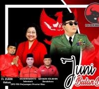 Lomba Vlog Kreatif berhadiah Doorprize 100 juta disajikan DPD PDI Perjuangan Riau meriahkan Bulan Bung Karno