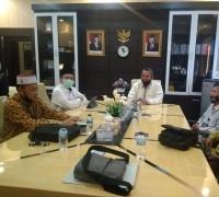 Ketua DPRD Pekanbaru Adakan Pertemuan dengan Anggota DPD RI
