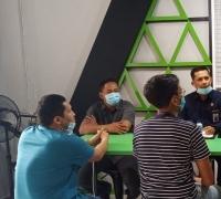 Datangi Kantor GoJek Pekanbaru, Azwendi Fajri : Kita Tidak Main-main!