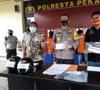 Sat Reskrim Polresta Pekanbaru Berhasil Ungkap Kasus Jambret