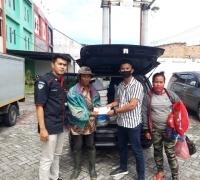NasDem Milenial Riau Bantu Pulangkan Pak Misnan dan Isteri Ke Batam