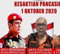 MPC PP Kota Pekanbaru : Peringati Hari Kesaktian Pancasila, Mari Maknai Sejarahnya