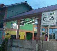 Setelah tiga bulan diresmikan, Bank Sampah Berkah Abadi tidak Pernah Beroperasi