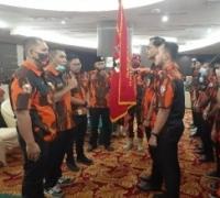 Setelah dilantik Oki Jumianto S.IP resmi pimpin Sapma Pemuda Pancasila Kota Pekanbaru