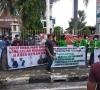 ALAMI gelar aksi unjuk rasa di Kejati Riau dan minta AHY memecat Drs. Achmad, M.Si