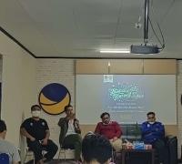 Hadirkan SENARAI dan FITRA RIAU Liga Mahasiswa NasDem Taja Diskusi, 'Apa kabar kasus korupsi di Riau'