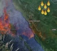 Memasuki Kemarau, Titik Panas Mulai Tersebar di Riau