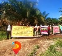 15 Tahun Di Zalimi Mafia Tanah, Kelompok Tani Mandiri Perjuangkan Lahan 300 Hektar di Pelalawan