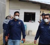 Aksi Sosial Jilid II, PP BMR Salurkan Sembako Untuk Warga Terdampak Covid